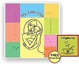 My Little One - A Baby Record Book | Unisex Photo Album | Wonderful Baby Shower Gift | (Spiral Binding)