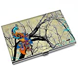 #8: Kolorobia Magnificent Peacock Visiting Card Holder