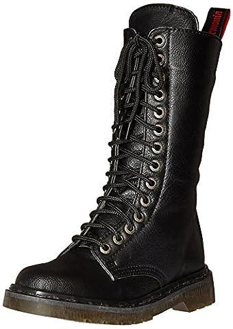 Demonia Women's Rival-300 Boots, Black (Blk Vegan Leather), 6 UK 39 EU
