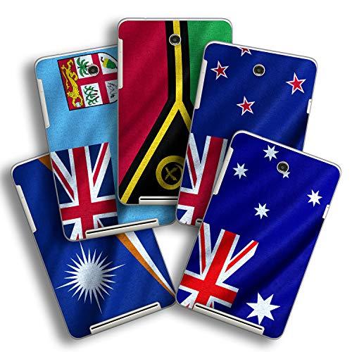 atFolix Designfolie kompatibel mit Asus MeMO Pad HD 7, Skin Aufkleber (Flaggen aus Australien und Ozeanien)