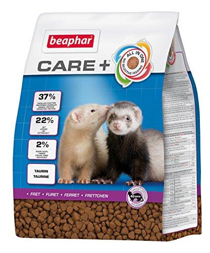 beaphar Care+ Frettchen | Frettchenfutter mit Hühnerfleisch | Unterstützt den Wachstumsprozess | Mit Taurin für Herz & Sehkraft | Mit Omega 3 und 6 | 2 kg -