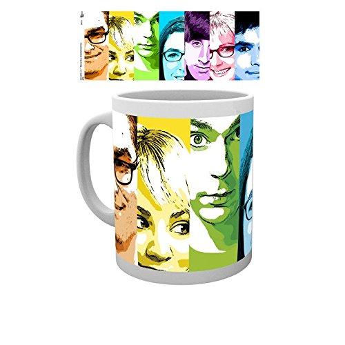Big Bang Theory Rainbow Tasse