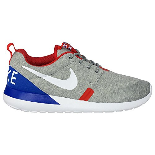Trainer Scarpe Rosherun Qs Sport grey heather white university red 002