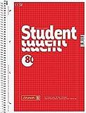 20 Brunnen Collegeblöcke Student A4 Lineatur 28 kariert, 80 Blatt weiß (20)
