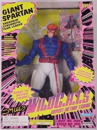 Jim Lee\'s Wildcats Giant Spartan 12 Inch Action Figure by Wild Cats