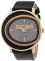 Reloj Just Cavalli R7251186505 para mujer de cuero Resistente al agua plata de Just Cavalli