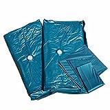Beliani Wasserbettmatratze Dual 160 x 200 x 20 cm Voll beruhigt