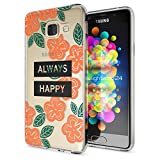 Samsung Galaxy A3 2016 Coque Protection de NALIA, Housse Motif Silicone Portable Premium Case Cover Transparente, Ultra-Fine Souple Gel Slim Bumper Etui pour A3-16, Designs:Always Happy