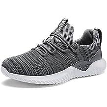 IIIIS-F Hombre Zapatillas de Senderismo Deportivas Aire Libre y Deportes Montaña y Asfalto Zapatos