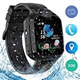 Jaybest Kids Smart Watch Phone, IP67 Waterproof LBS Tracker Smartwatch for Kids Anti-lost