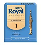 Rico Anches Rico Royal pour saxophone soprano, force 1.0, pack de 10