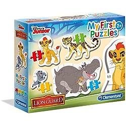 Clementoni - 20801 - Puzzle - My First - Lion Guard - 3-6-9-12 Pièces