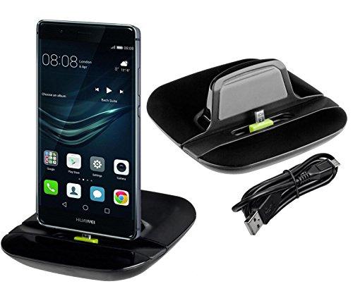 yayago Designer Dockingstation & Tischlader für Huawei P9 Lite / P9 Lite Dual