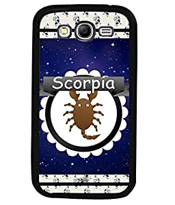 Fuson 2D Printed Sunsign Scorpio Designer back case cover for Samsung Galaxy Grand 2 - D4428