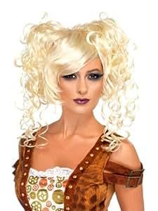 Perruque steampunk blonde