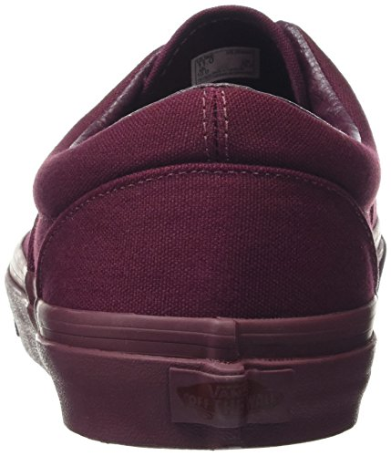 Vans Baskets Basses Mixte Adulte Rouge (Gold Mono port royale)