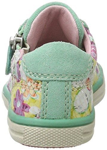 Lurchi - Sanni, Pantofole Bambina Mehrfarbig (Mint)