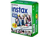 Fujifilm Film - 16385995 - Instax Wide 99 x 62 mm - Compatible Appareil Instax Wide...