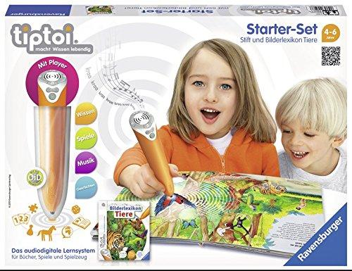 Ravensburger Lernspiel tiptoi Starter-Set mit Stift und Buch Bilderlex...