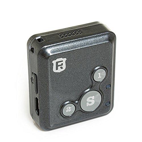 Pulsera localizadora portátil con GPS personal; dispositivo de seguimiento en tiempo real, para niños o ancianos (RF-V16), 0.51 pounds, color negro