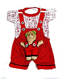 Light Gear Unisex Baby Fashion Dungaree/Sisindri Dress (3 to 9 Months)