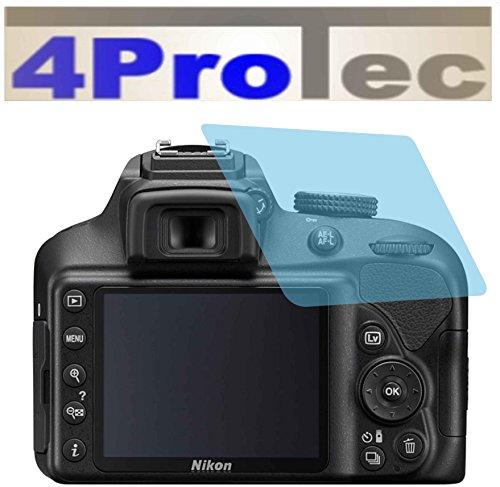 2 Stück GEHÄRTETE ANTIREFLEX Displayschutzfolie für Nikon D3400 Bildschirmschutzfolie Schutzhülle Displayschutz Displayfolie Folie