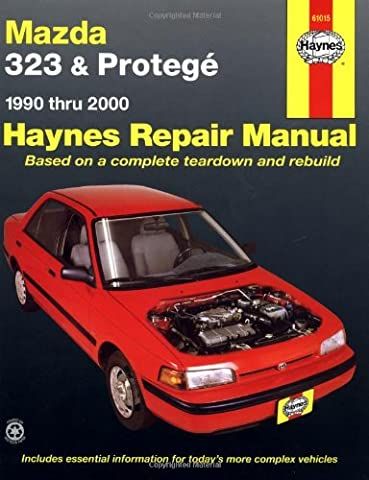 Mazda 323 & Protege, 1990 Thru 2000: Automotive Repair Manual: 1990 to 2000 (Haynes Repair Manual)
