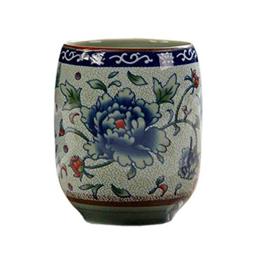 Blancho 2 PCS Tasses à thé en céramique chinoise et japonaise Tasse à bière en tasse à thé Kung Fu Tasse à eau #01