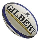 Gilbert européenne Rugby Réplique des Champions de Football Boule–Blanc/Bleu/Doré, Taille 5...