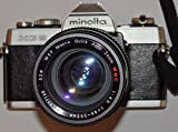 MINOLTA XG2 XG-2 - analoge SLR Spiegelreflexkamera - inkl. Objektiv WEP Macro Quick Auto Zoom WMC 1:4.5 f=80-205 mm Ø 52## Technik getestet - ok - by PHOTOBLITZ ##