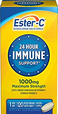 Ester-C, Immune Support, 1000 mg, 120 Coated Tablets by NATURES BOUNTY .