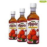 #5: Neuherbs Natural Raw Apple Cider Vinegar(ACV)-1050ml (350ml*3-Pack of 3)Unflavoured