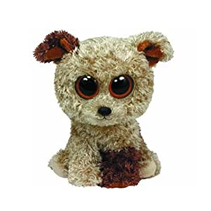 Ty - Ty36087 - Peluche - Beanie Boos - Moyen - Rootbeer Le Chien - 15 Cm
