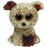 Perro de peluche (1.37x0.78x0.68 cm) (36087) - Peluche Perro Beanie Boo's Standard (15cm), Juguete Peluche