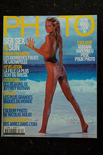 PHOTO 361 SPECIAL SEX & SUN ADRIANA KAREMBEU LACHAPELLE REQUINS JEFFREY ROTMAN par Les Trésors d Emmanuelle