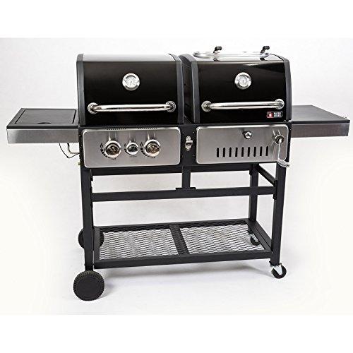 Mayer Barbecue ZUNDA Holzkohle- und Gasgrill, Kombigrill MGH-1201 Pro