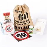 Cera & Toys Geschenk Set zum 60. Geburtstag (6-teilig)