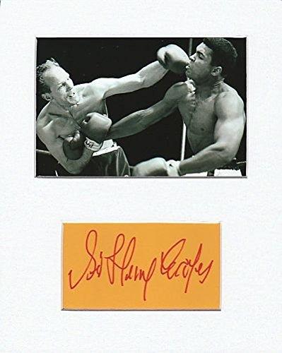 Boxer-Henry Cooper Original Authentic Autogramm AFTAL COA (Ray Blu Ali Muhammad)