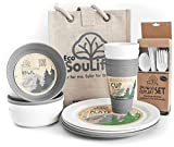 Eco SouLife Biodegradable 4 People set picnic