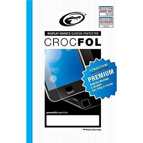 art. 3124/Fujifilm Finepix HS30Crocfol–Protector de pantalla–Fabricado en Alemania. transparente PREMIUM SMART