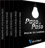Pack de libros Paso a Paso: Office 2016 Paso a Paso + Windows 10 Paso a Paso + Excel 2016 Paso a Paso + Word 2016 Paso a Paso + PowerPoint 2016 Paso a Paso