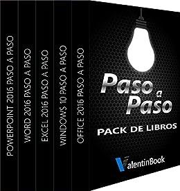 Pack de eBooks Paso a Paso (para descarga): Office 2016 Paso a ...