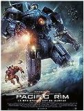 Pacific Rim Affiche Cinéma Originale Grand Format (160x120 cm Pliée)
