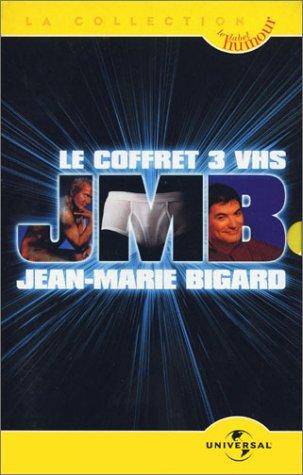 Coffret Jean-Marie Bigard 3 VHS : 100% Tout neuf /