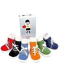 TRUMPETTE Johnny - Calcetines para bebé (0 a 12 meses, ...