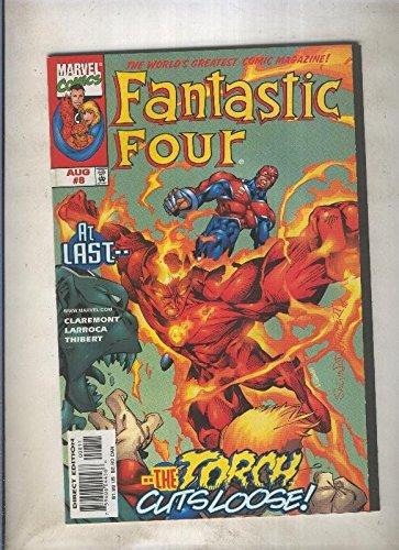 Fantastic Four volumen 3 numero 008 (1998)