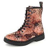Tamaris Damen Stiefel Rosa/Flower, Schuhgröße:EUR 39
