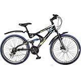 Hero SRXT26BKBL05 RX2 Cycle (Black/Blue)