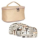 MPK Perfect Cosmetic Bag with Makeup Pouch for Women