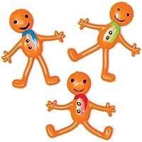 Bonhommes Pain d'Épices Extensibles. Parfaits au Pied du Sapin pour les Enfants (Lot de 6)